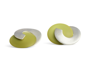 Lime Pearl Gabo earrings