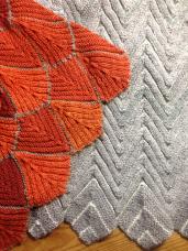 Orange and Grey, detail