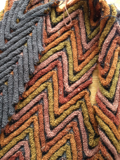 Zigzags, detail
